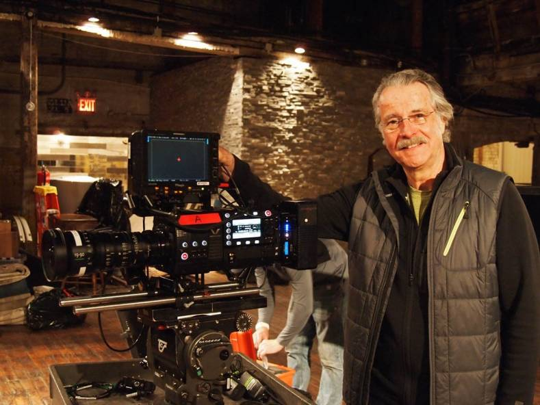 Dejan Georgevich ASC with the Varicam 35 on the 'Once in a Lifetime' shoot