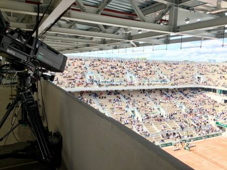 The AK-UC4000 studio camera was used to broadcast the Roland Garros French Open live on France TV Sport, with international distribution.
