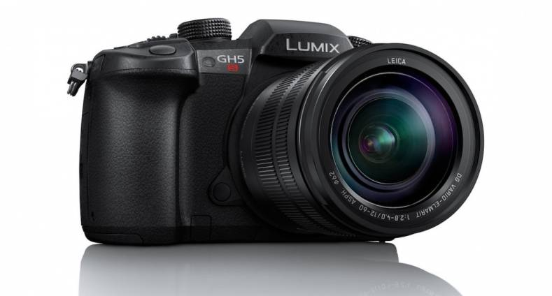 The new Lumix GH5S camera.