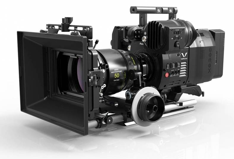 The Varicam Pure records RAW to Codex camera back.