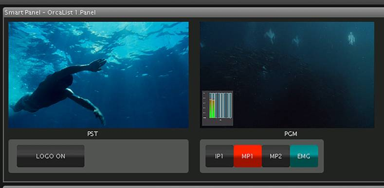 Pebble Beach's Orca cloud-based playout includes low-latency NDI confidence monitoring for high value live, reactive channels.