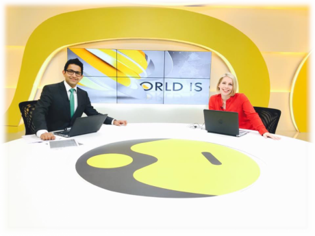 World Is One News (WION) launched globally last year.