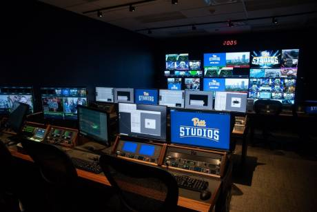 NEP worked with Pitt Studios staff on overall system design and final installation of the technical operations center and control rooms.