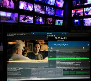 Biznet's central Jakarta playout suite operates three AirBox Neo servers remotely via optical fibre links.