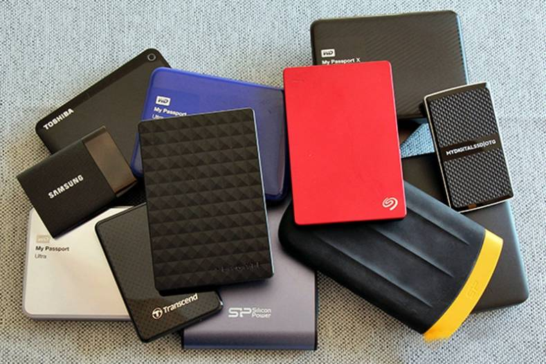 There are plenty of portable drives available. However, be sure to select a drive that is compatible with the type of computer being used.