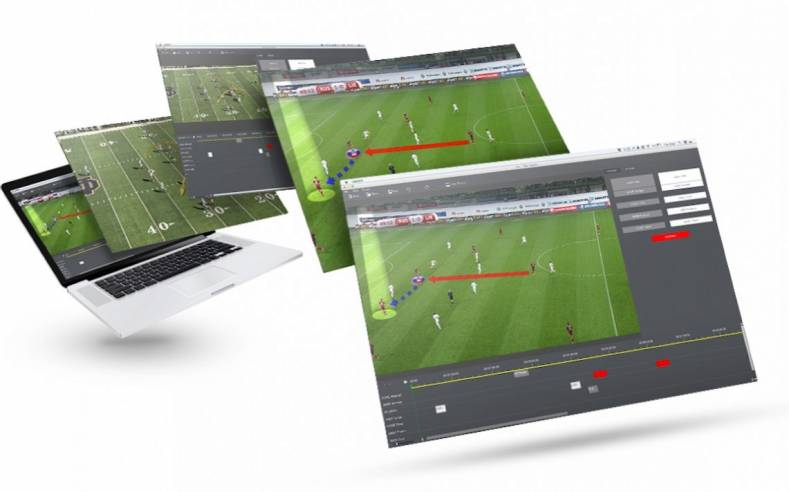 Coach Capture is a cross platform (Mac/Windows) video system for sequencing and displaying sports highlights.