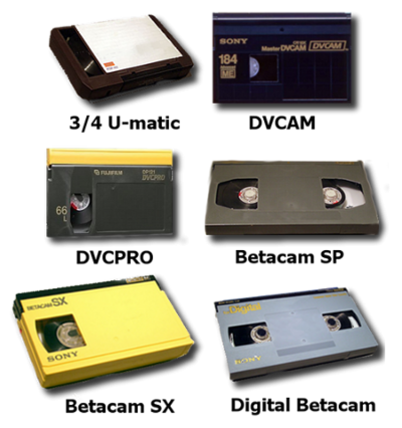 "The digital age was first represented by years of  ""tape du jour"". Image courtesy Cintrex AV."
