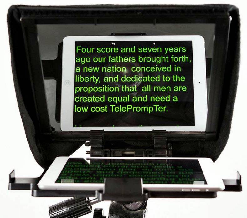 Miniature Teleprompters Emerge as Cameras Get Smaller - The