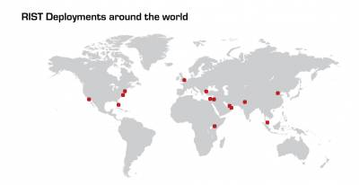 The RIST spec is now deployed in dozens of global locations for a wide variety of broadcast services.