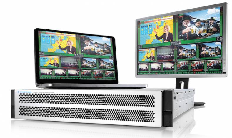RTL II is using the Rohde & Schwarz Prismon's monitoring and multiviewer features for its newly designed OTT channel playout system.