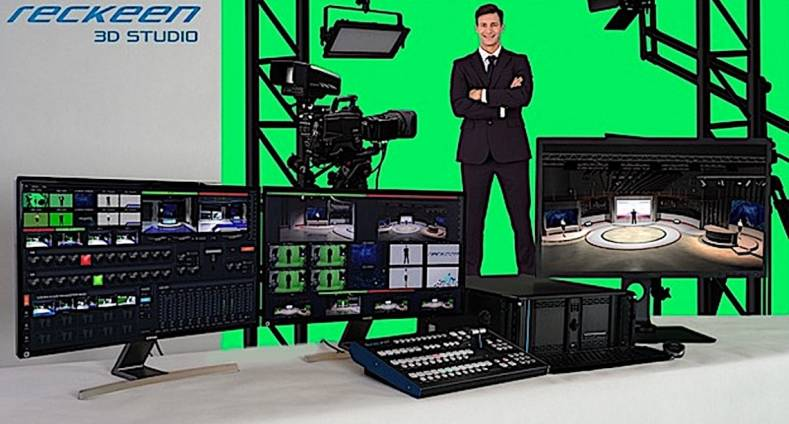 Reckeen is making virtual sets simple and affordable at NAB 2019