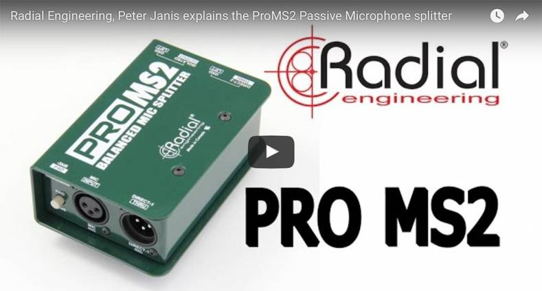 Radial Engineering Makes Rugged Production Tools for