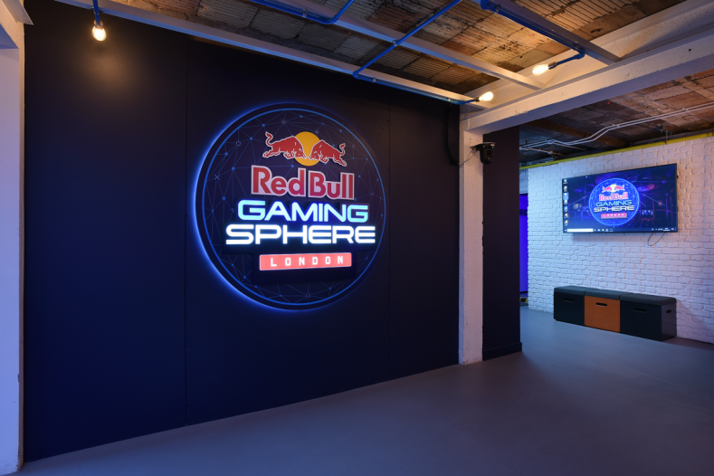 Red Bull Gaming Sphere, London.