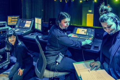 Riedel's Bolero provides crystal-clear, efficient, and easy-to-manage communications for WAAPA performance crews.