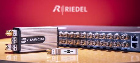 Riedel will leverage Embrionix's SDI-to-IP SFPs and other products for its MediorNet video transport networking system.