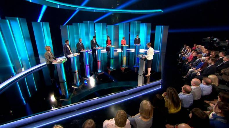 The ITV Leaders Debate program was produced live at HQ1, dock10's 12,500-square-foot studio.