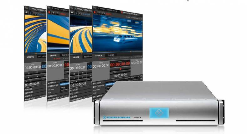 The Venice 4K server was introduced at NAB and will be upgraded at IBC.