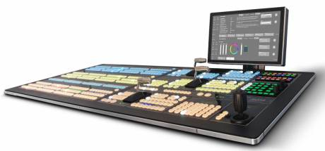 The Ross Video Acuity production switcher features internal signal processing engines installed inside a modular input and output matrix.