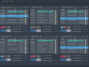 The SAM Morpheus UX interface provides a fresh approach to channel playout and automation.