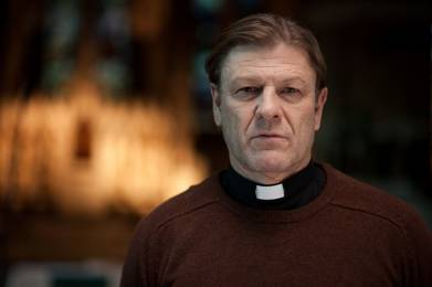 Sean Bean as Father Michael in Broken.