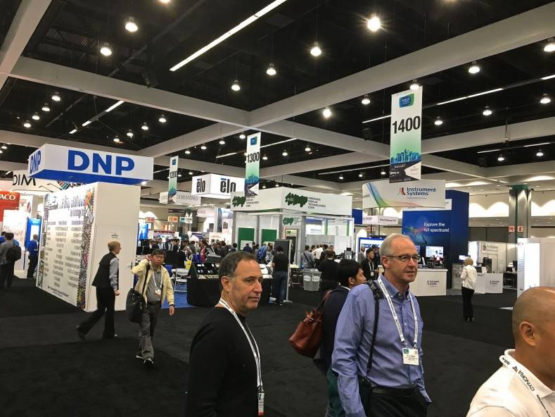 Display Week 2018 brought engineers from around the world to tantalize attendee's imagination with new ways to display imagery and data.