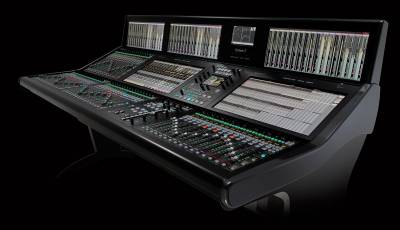 New SSL System T offering great flexibility in system architecture by leveraging Dante and Audio over IP.