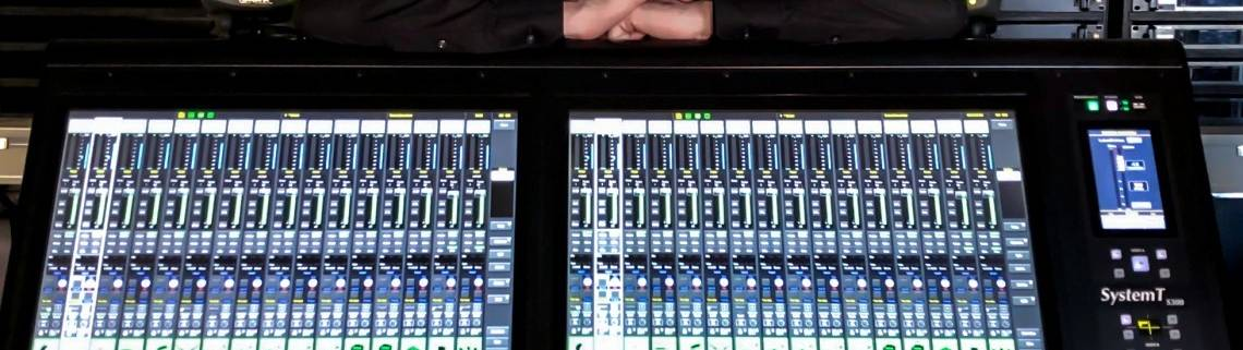 The SSL System T Broadcast audio console has already been used by Frequence for a major TV entertainment production in France.