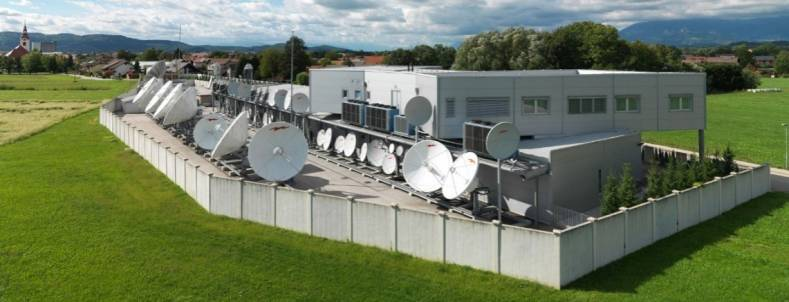 Satellite Telecommunications Network is a global telecommunications hub, or teleport, distributing more than 650 channels.