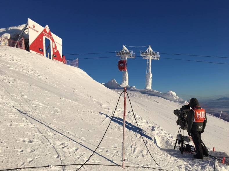SVT implemented a remote IP production workflow for this year's FIS Alpine World Ski Championships