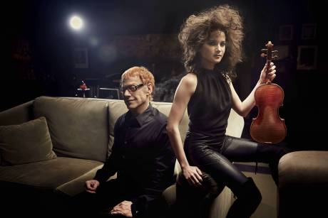 Danny Elfman and Sandy Cameron.