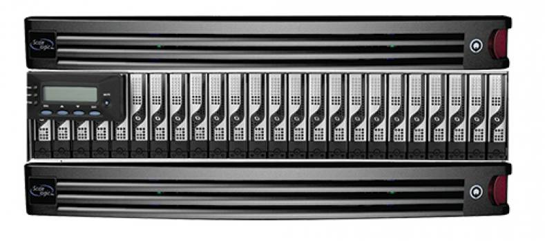 The Genesis HyperMDC storage array reduces power consumption without sacrificing performance or reliability.