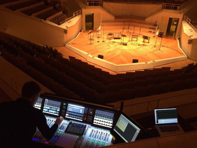 The Berlin Philharmonic has added a HARMAN's Soundcraft Vi3000 console to its historic Chamber Music Hall.