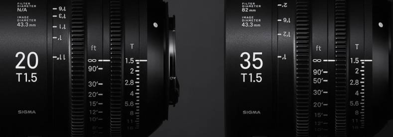 Sigma line-up includes zooms and primes.