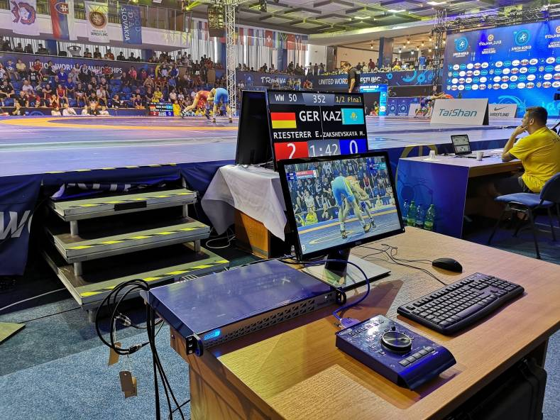 Slomo.tv videoReferee-SR systems used at 20 competitions and will be used at the 2021 and 2024 Olympics