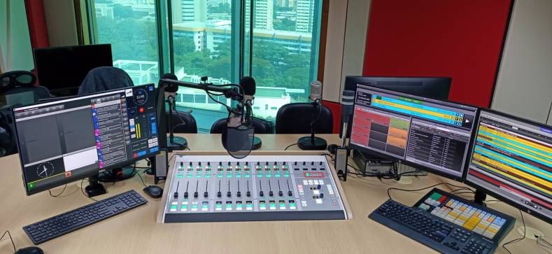 Lawo physical and virtual radio mixers installed at Power 98 are the first of their kind in Singapore.