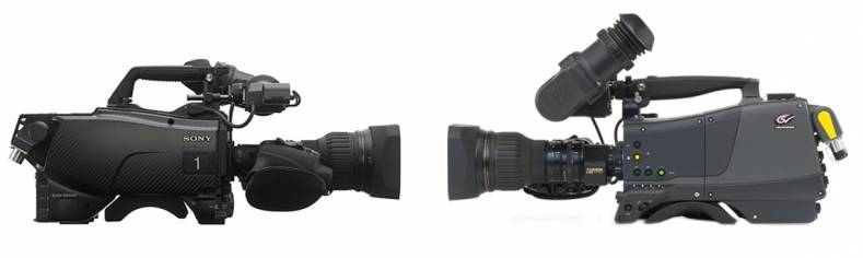 Sony and Grass valley have taken different approaches to the 3-chip UHD camera.