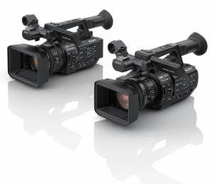 The new 3-chip 4K Sony XDCAM cameras.