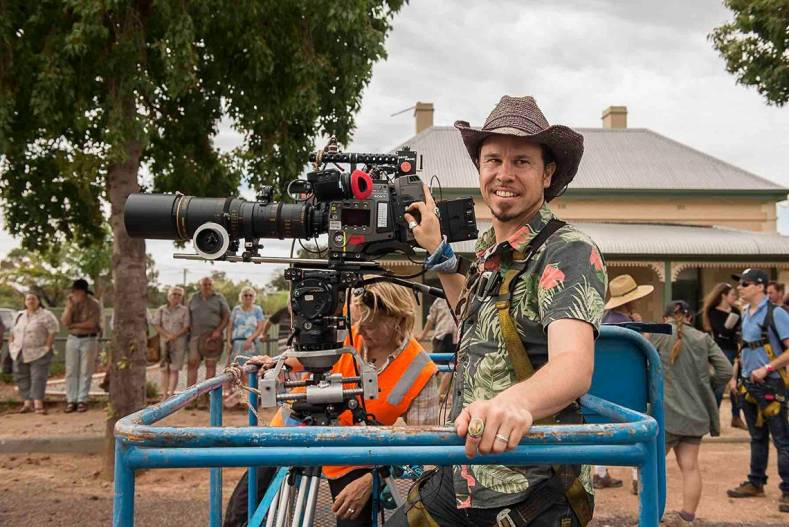DP Denson Baker on location with the Sony F65 in Australia.