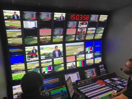 The new truck includes a Sony XVS production switcher, Sony monitors and multiple HD and 4K cameras.