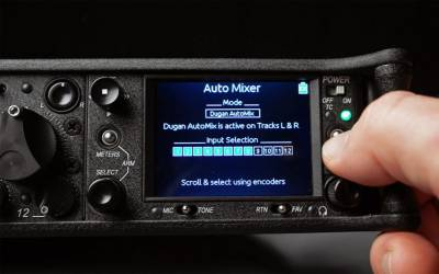 The Sound Devices 688 features two selectable automixing algorithms.