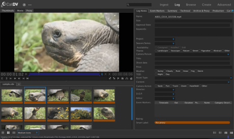 A new Professional Web Client offers a source and record rough-cut editor