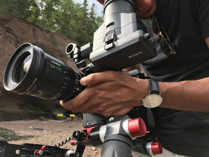 Stature Films shooting in New Brunswick with new Fujinon MK50-135mm lens.