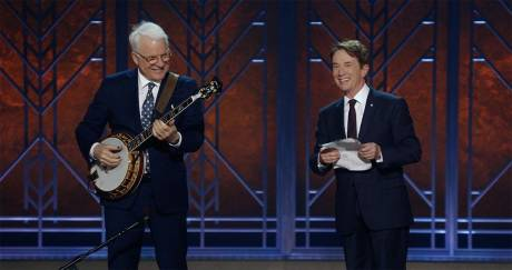 Steve Martin and Martin Short in Netflix special, An Evening You Will Forget for the Rest of Your Life.