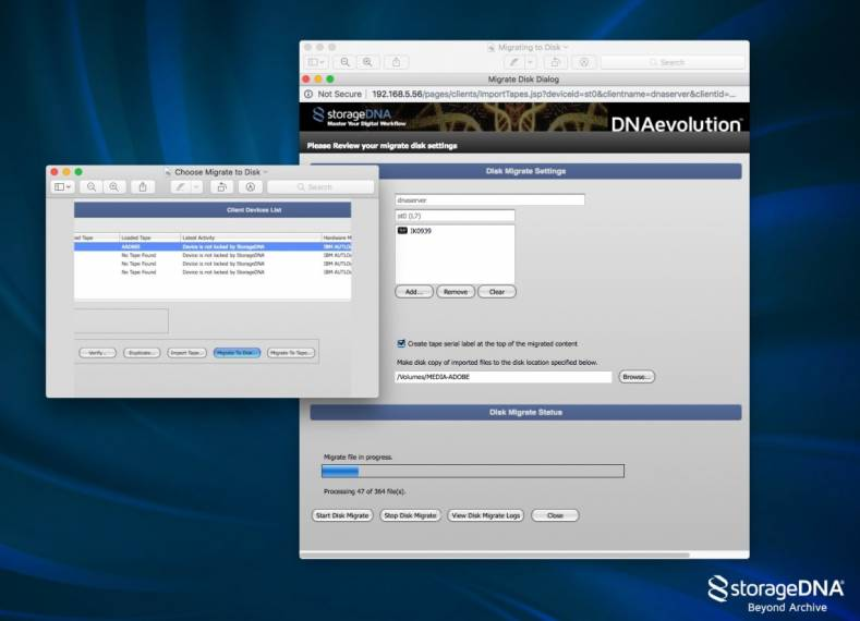 StorageDNA DNAevolution Intelligent Archive Software