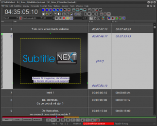 The new SubtitleNext platform and interface were shown at IBC 2016.