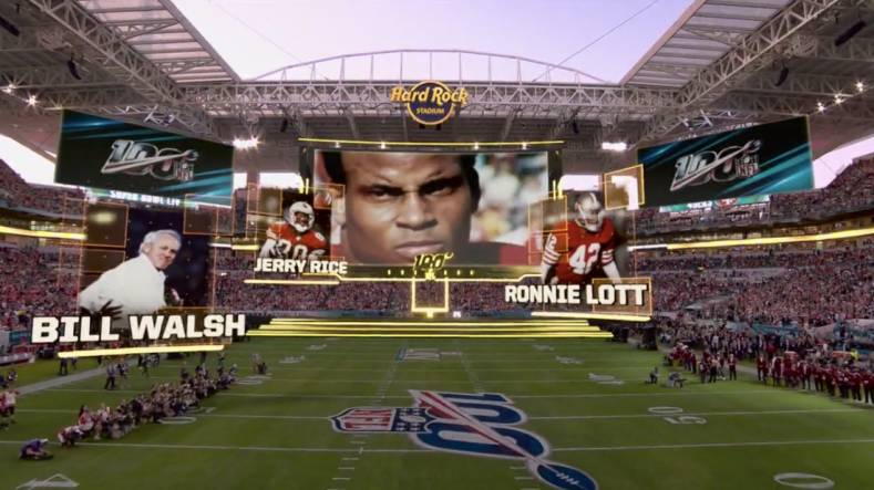 Super Bowl 2020's coverage from Fox Sports included insert graphics and mixed reality.
