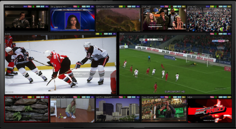 TAG Multi-View Monitoring for Live Production and Playout.