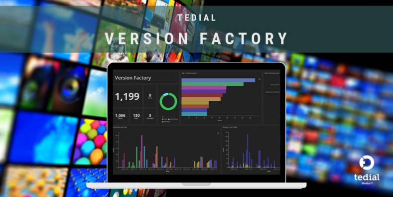 Tedial Version Factory has been updated.
