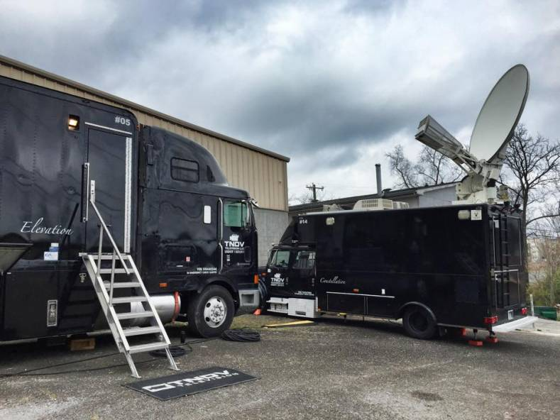 "TNDV's ""Elevation"" truck carries eight Hitachi HD5000 cameras, ProTools audio recording and a routing and multiviewer architecture."