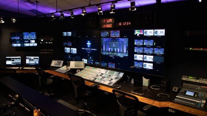 First Baptist Church is using TSL Product's Tallyman control system to bridge the gap between legacy equipment and new gear.